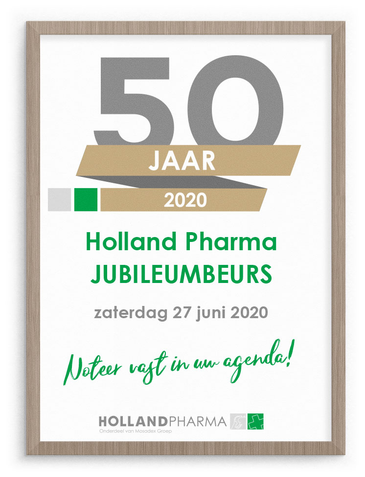 Holland Pharma Jubileumbeurs 2020