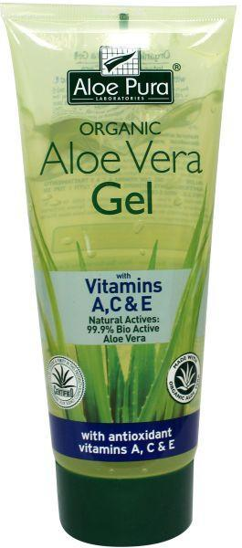 optima aloe pura aloe vera gel organic vitamine a c e. Black Bedroom Furniture Sets. Home Design Ideas