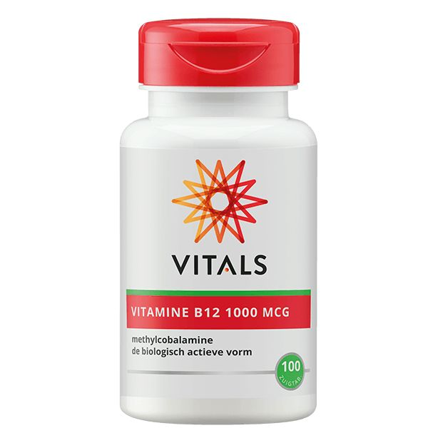 Vitamine B12 methyl 1000 mcg 100zt